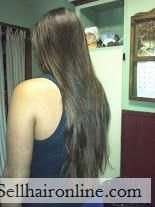 Cool Virgin brunette with natural highlights