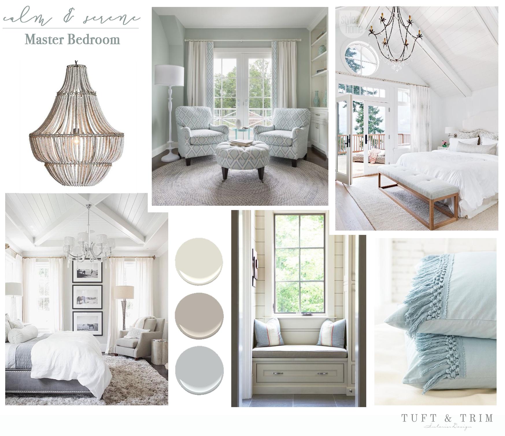 Design Concept Calm & Serene Bedroom