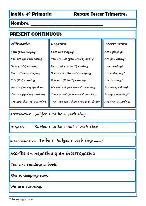 Fichas inglés cuarto primaria. Niños de 9-10 años | Food | Pinterest ...