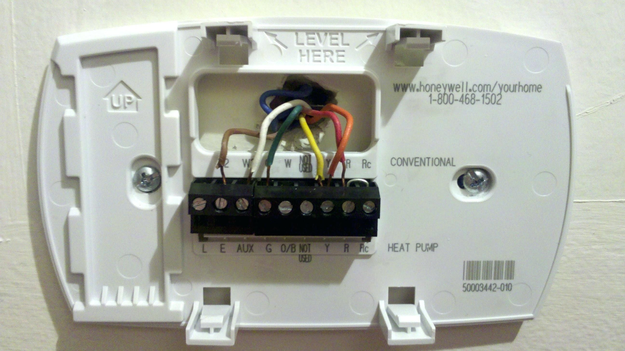 Unique Wiring Diagram For Honeywell Thermostat Rth2300b