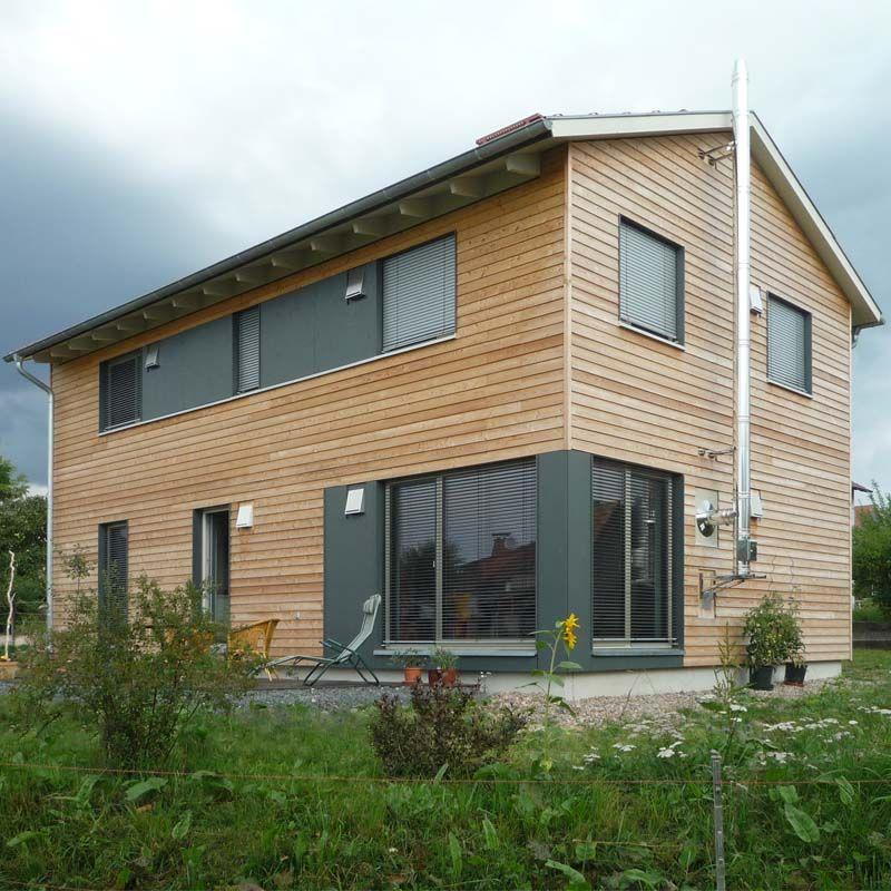 Modernes holzhaus satteldach  Einfamilienhaus mit ca. 126 m² Wohn-und Nutzfläche 2 Vollgeschosse ...