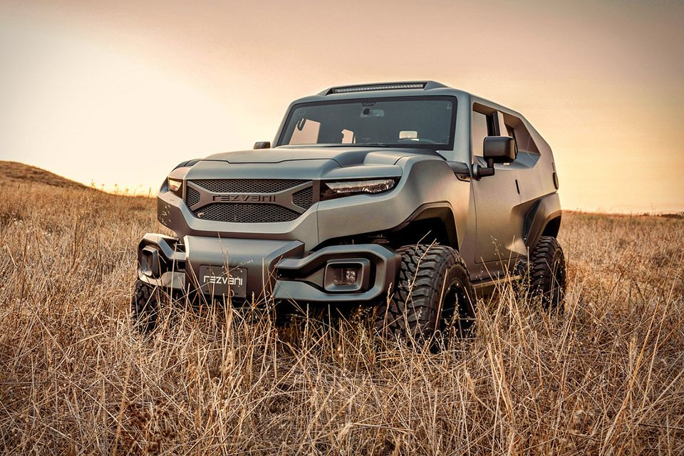 Rezvani Tank SUV Suv, Sport utility vehicle, Vehicles
