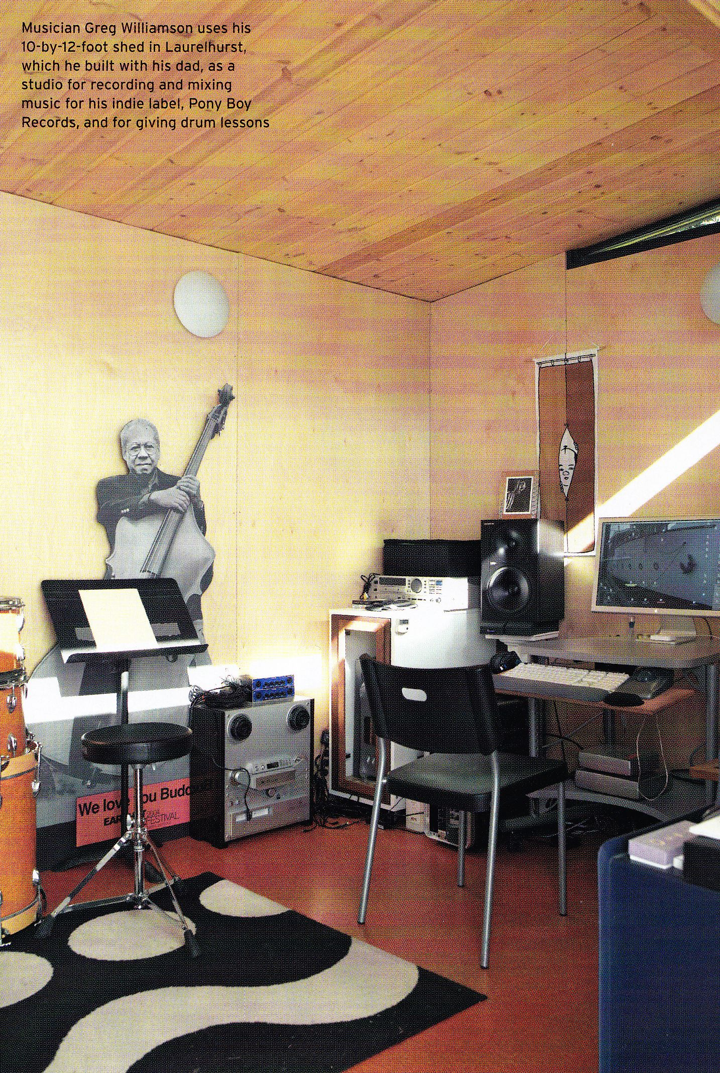 Rock Out In Your Modern Shed Music Room That Studio Life