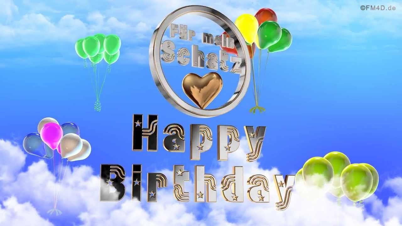 Geburtstagslied Fur Mein Schatz Happy Birthday To You