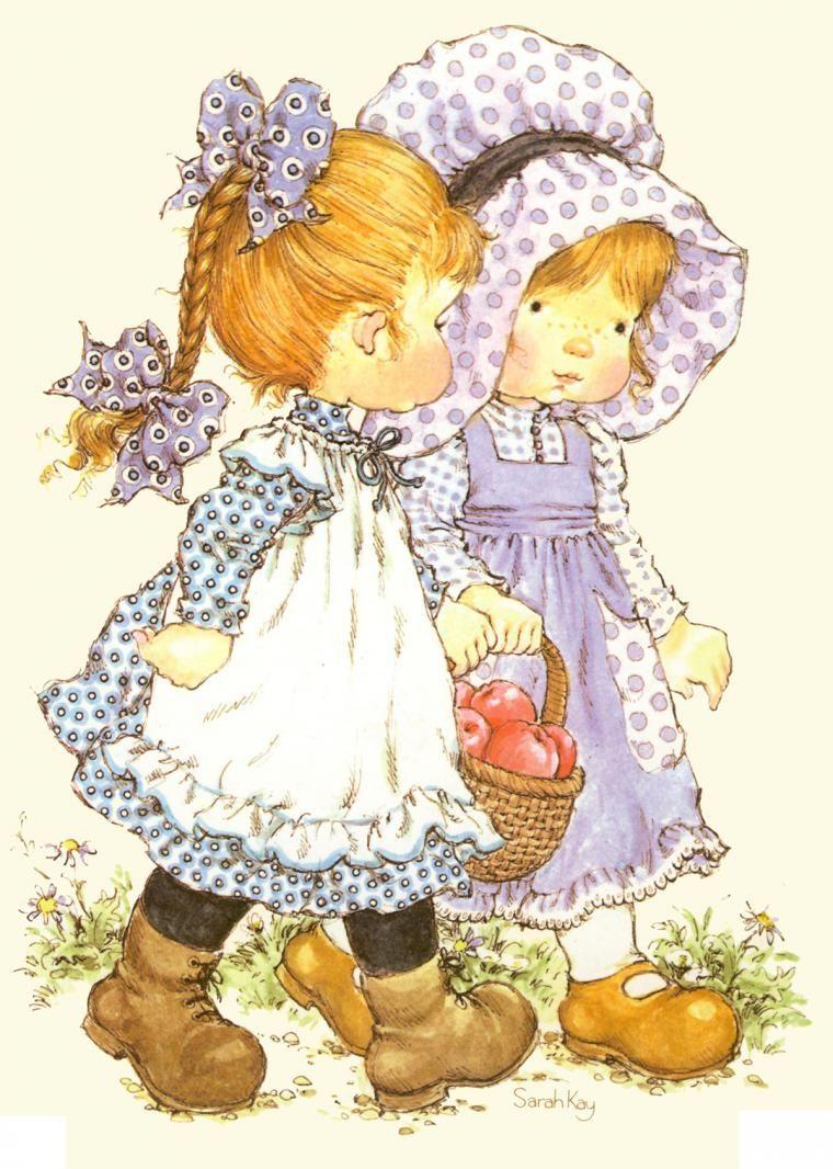 Невероятно трогательные иллюстрации с маленькими девочками - Ярмарка Мастеров - ручная работа, handmade