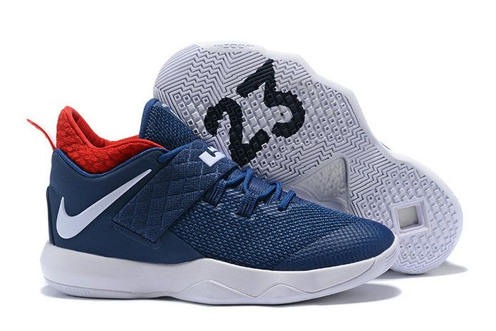3f38ae96246ed Mens Original Nike Ambassador X 10 Lebron James USA Navy University Red  White