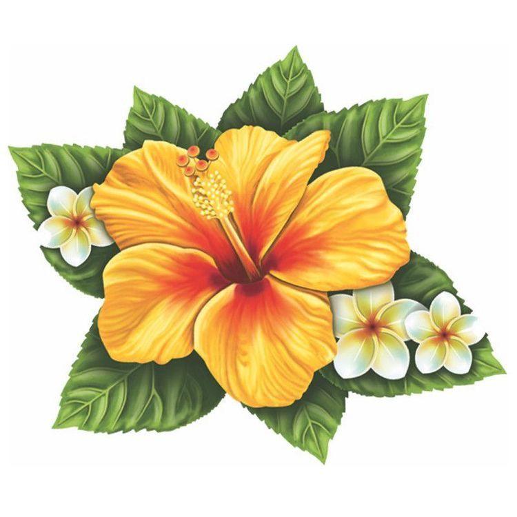Pin By Beata On Arte Ovunque Flower Drawing Hawaiian Flower Tattoos Hibiscus Flower Tattoos