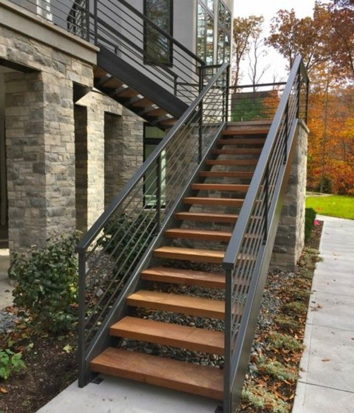 L Escalier Exterieur En 57 Photos Qui Vous Feront Rever Garten