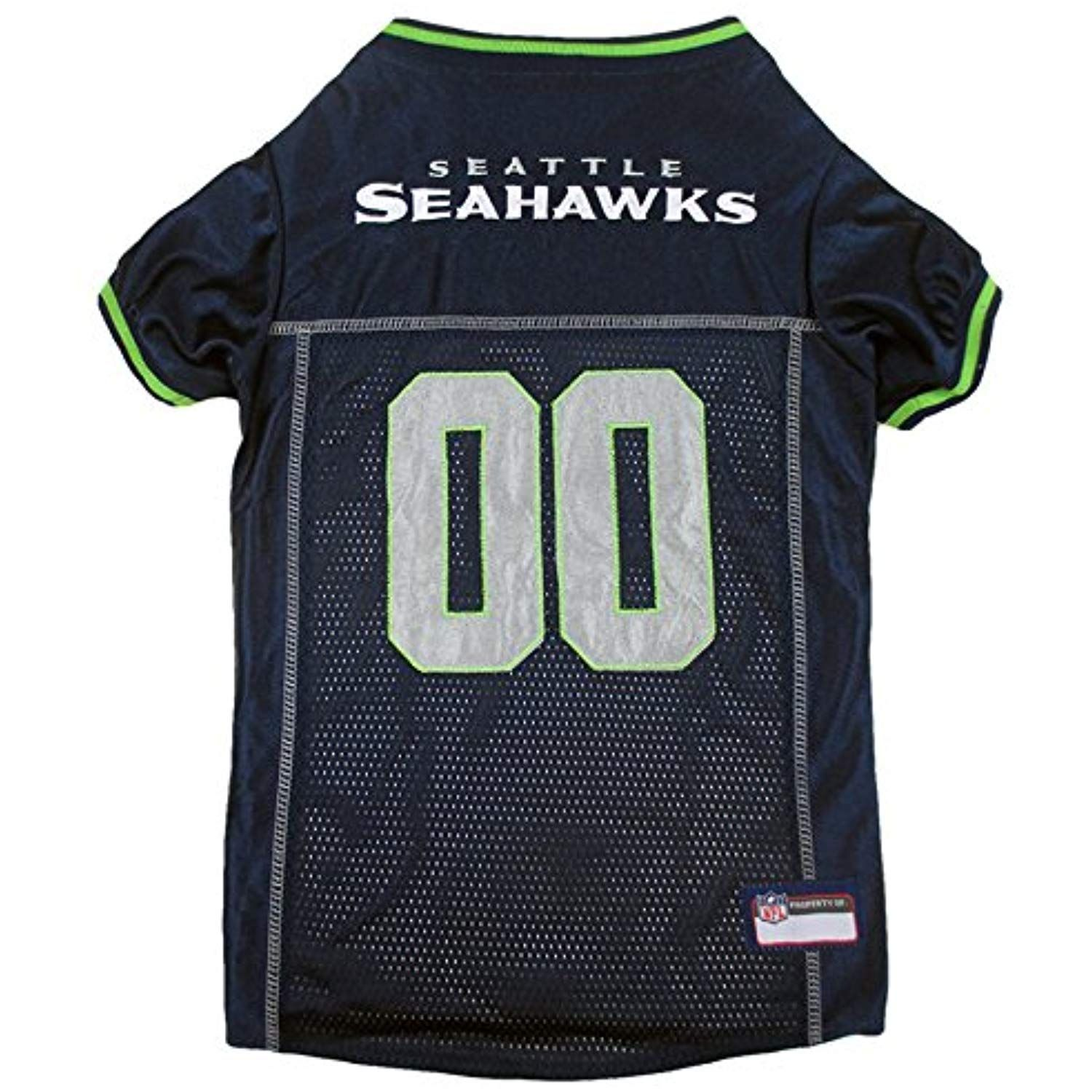 Pets First NFL Seattle Seahawks Premium Pet Jersey, Small