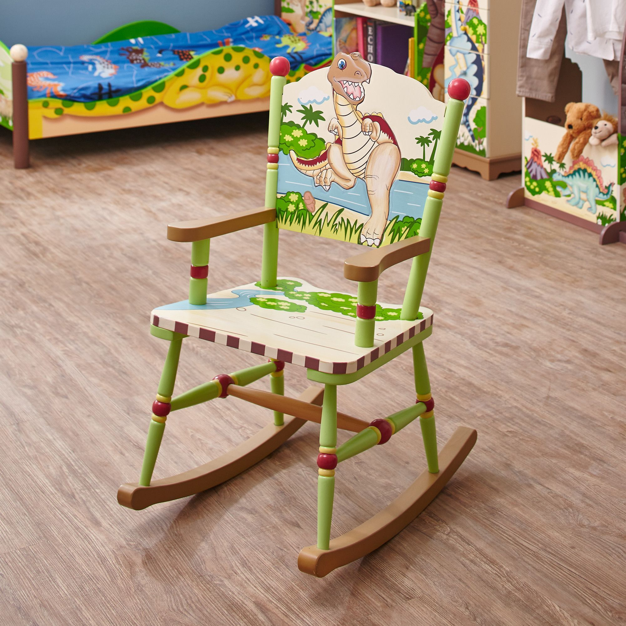 Awesome Now Your Little One Can Rock Out With Fantasy Fields Andrewgaddart Wooden Chair Designs For Living Room Andrewgaddartcom
