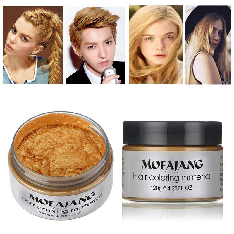 Mofajang Colorful Hair Wax Hair wax, Hair color, Dyed hair