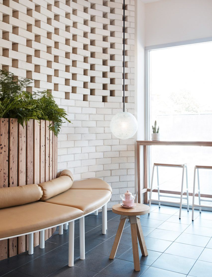 Australian Designer Matt Woods Has Given Chinese Cafe Chain The Dessert Kitchen A Minimal And Nature Led Interior For Its First Outpost In Sydney