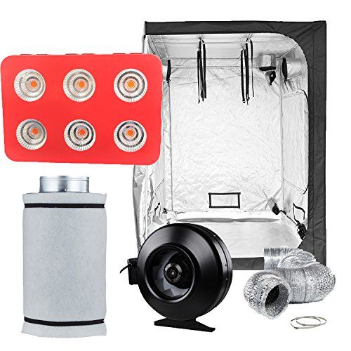 Topolite Grow Tent Room Complete Kit Hydroponic Growing 400 x 300