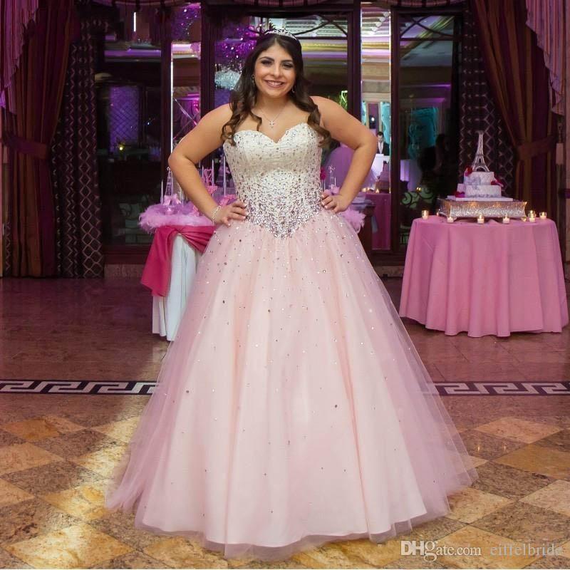 Vestidos De Quinceañera Para Chicas Talla Grande Vestidos