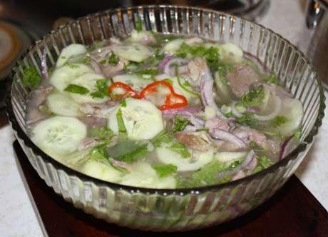 Guyana Souse Souse Recipe Caribbean Recipes Food Recipes