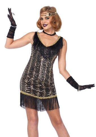 Women Fashion Flapper Pink Costume Flapper Girl Funny Christmas Cosplay Costume