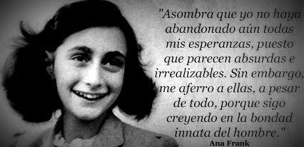 Diario De Ana Frank Frases Buscar Con Google Frases Anne Frank