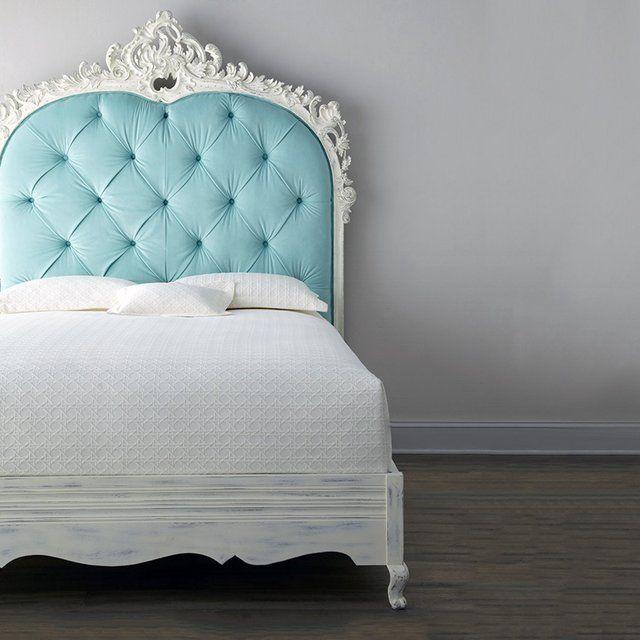 headboard - Bouvier Bed Blue