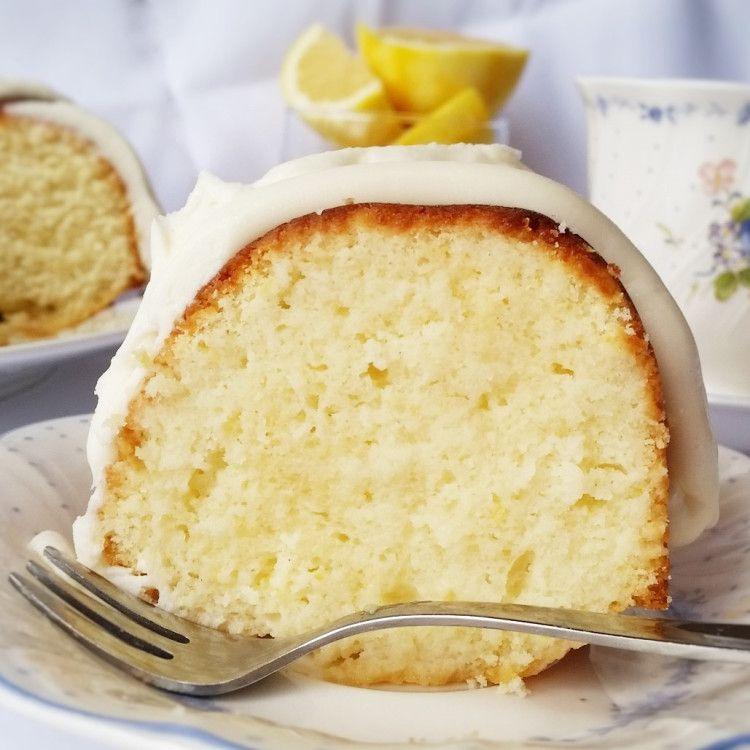 Homemade lemon nothing bundt cake lemon bundt cake