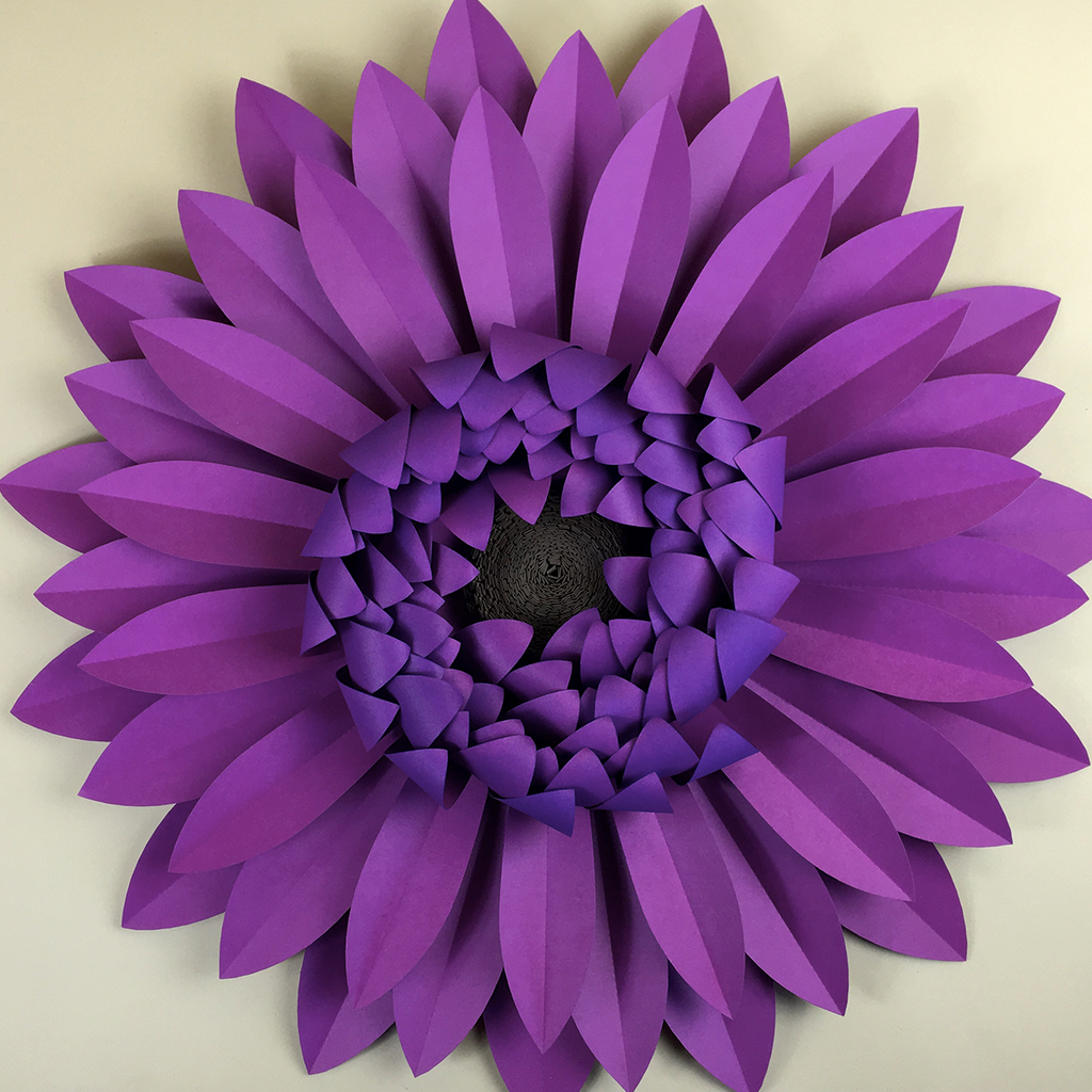 Gerbera daisy diy templates for hand cutting silhouette or cricut gerbera daisy 19 templates instant download especially paper large paper flowers diy mightylinksfo