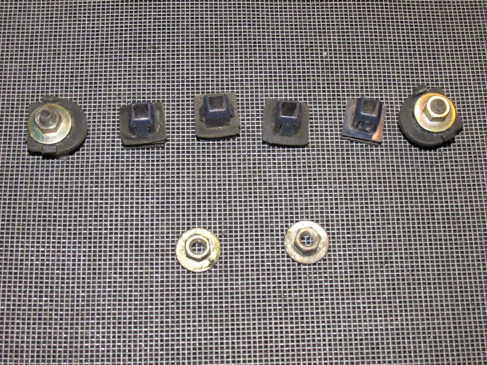 small resolution of 90 91 92 93 94 95 96 nissan 300zx hatch door panel hardware clip set