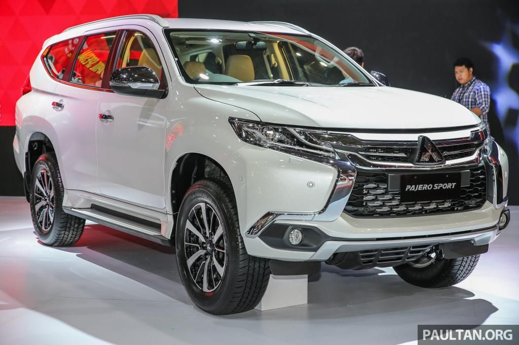 Pajero Sport 2017 Reviews, Specifications and Photos