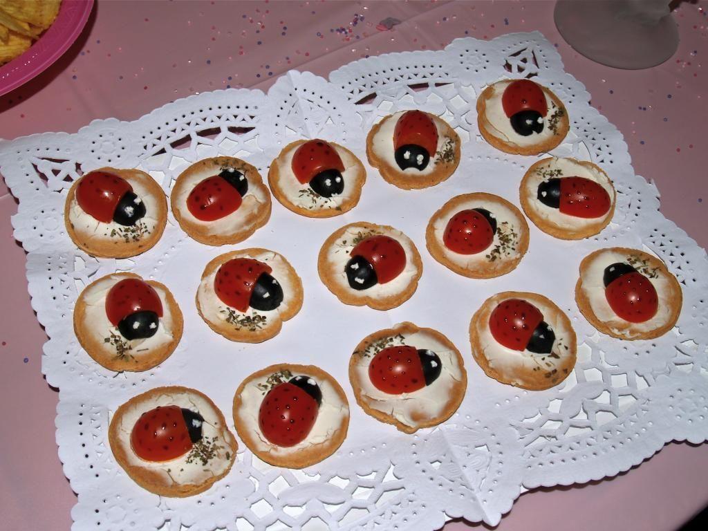 ideas para fiestas mariquitas de cherry