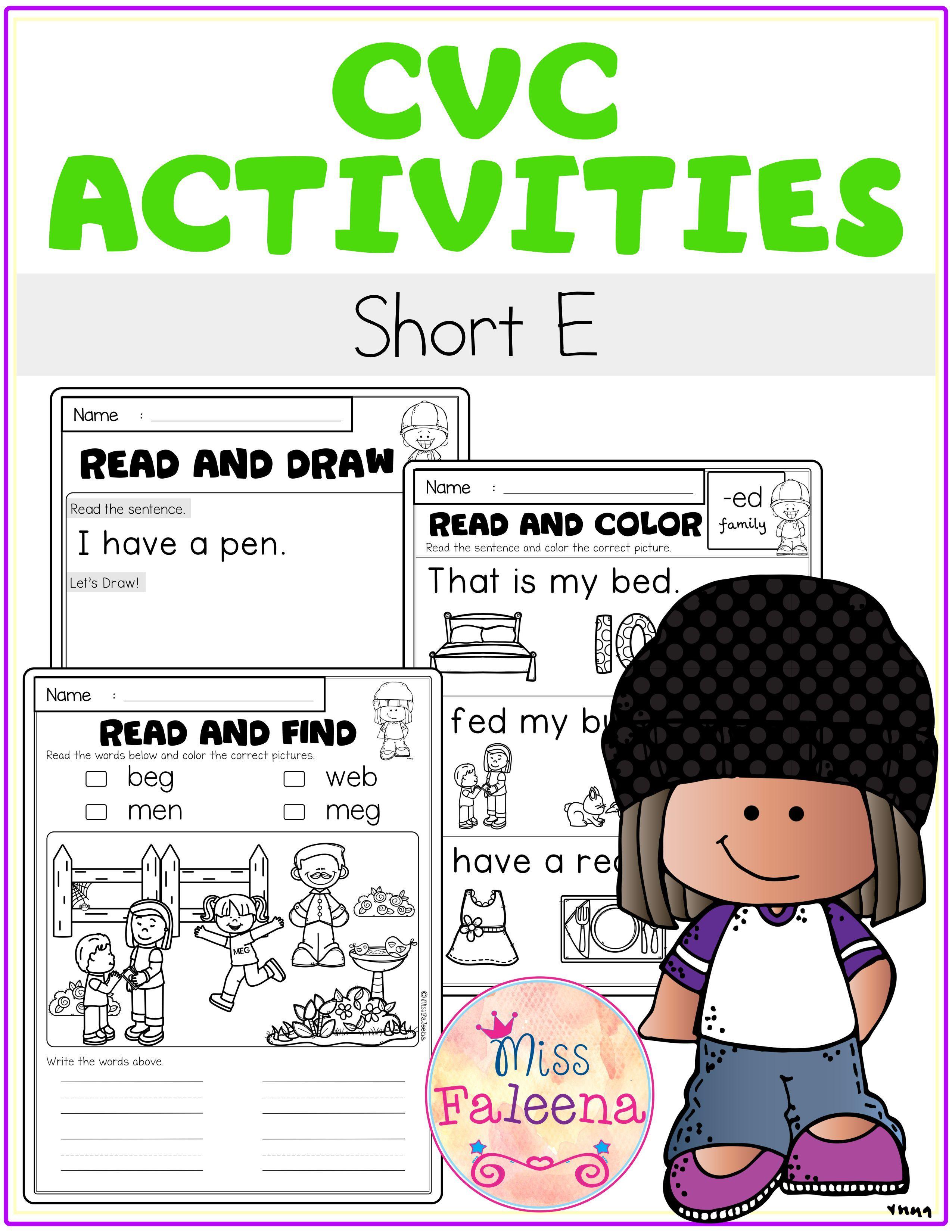 Cvc Activities Short E