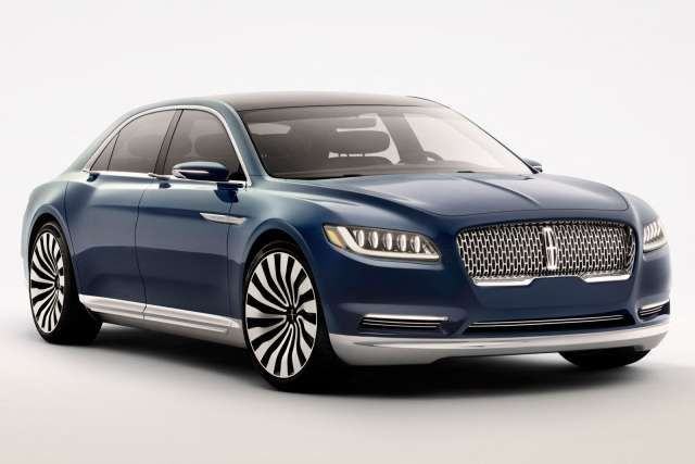 Lincoln Continental Is The Latest Generation Of Full Size