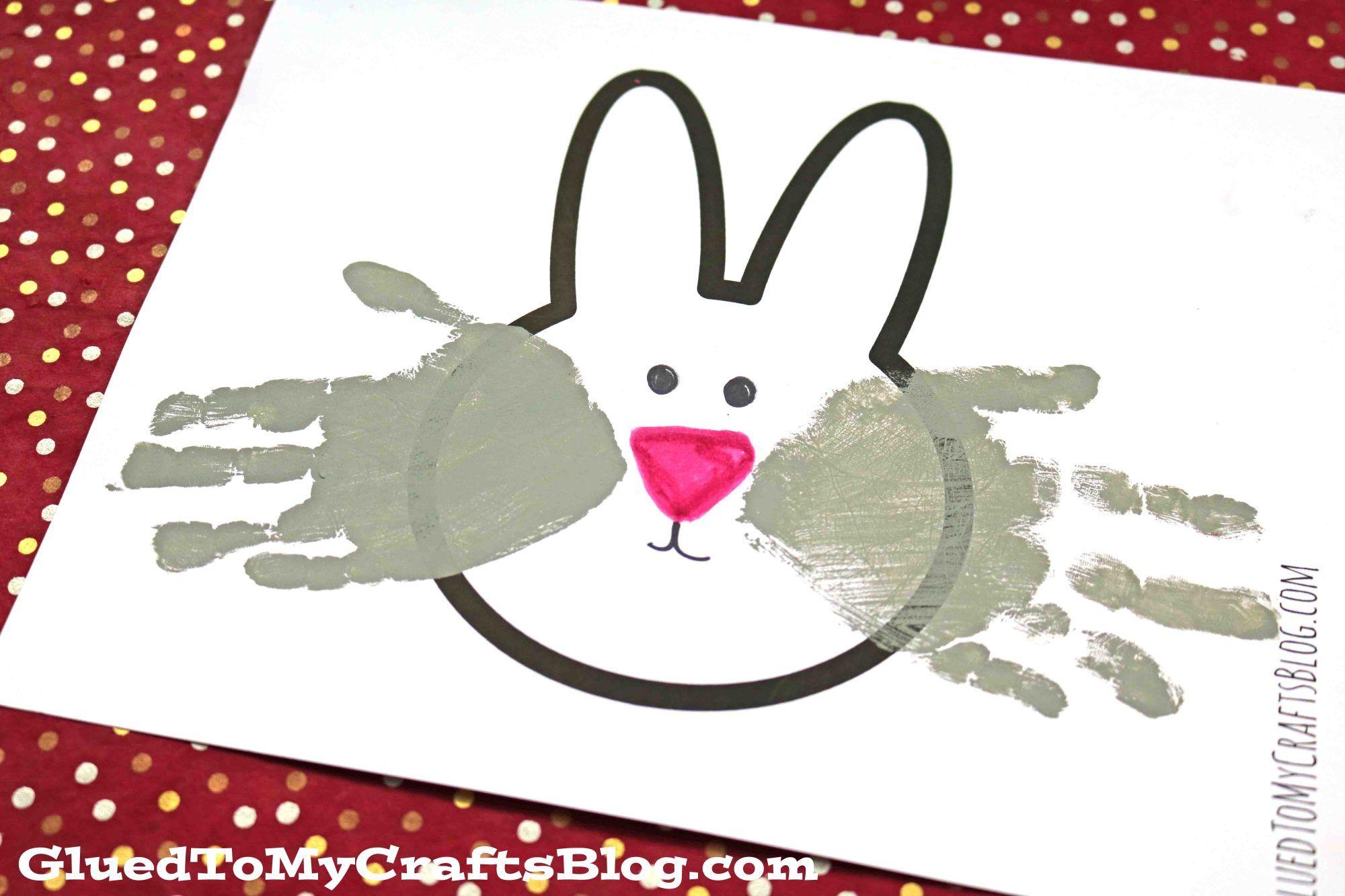 Handprint Bunny Keepsake