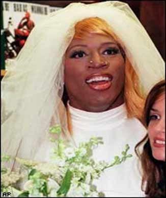 dennis rodman in wedding dress #NeNeLeakes #NewportBeach | Dennis ...