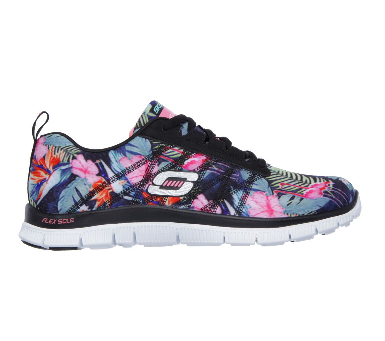 Buy SKECHERS Flex Appeal  Floral BloomFlex Appeal Shoes only70 00