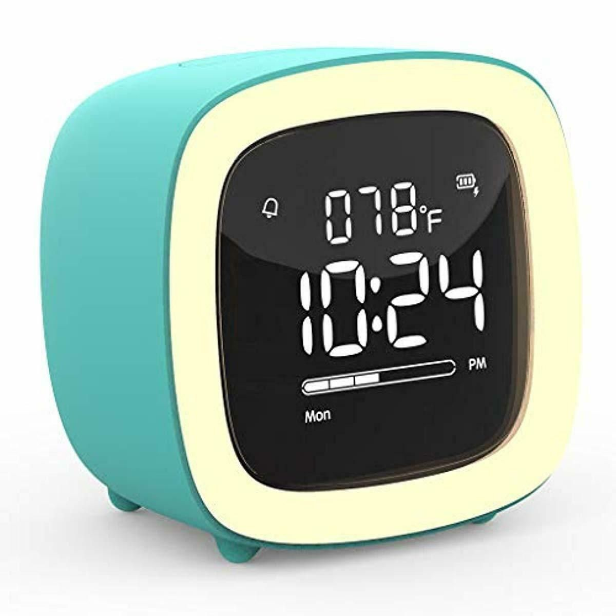 Kids Alarm Clock Cute Tv Night Light Alarm Clock For Kids Girls Children Bed 27 43 Kids Clocks Ideas Of Kids Light Alarm Clock
