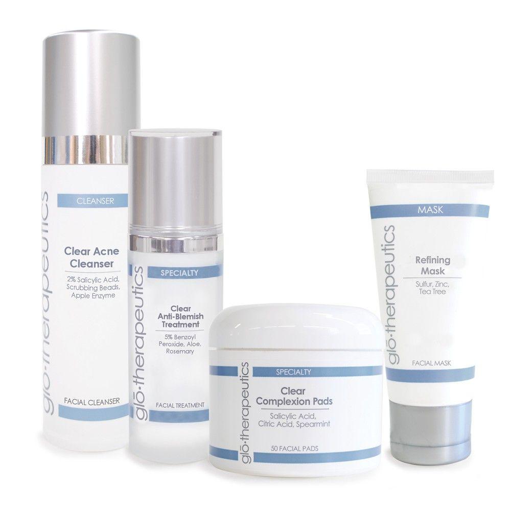 Glotherapeutics Clear Skin Kit Oily To Acne Prone Skin