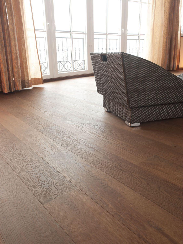 Mafi Oak Flooring Vulcano Brushed Natural Oil Plancher Mafi De