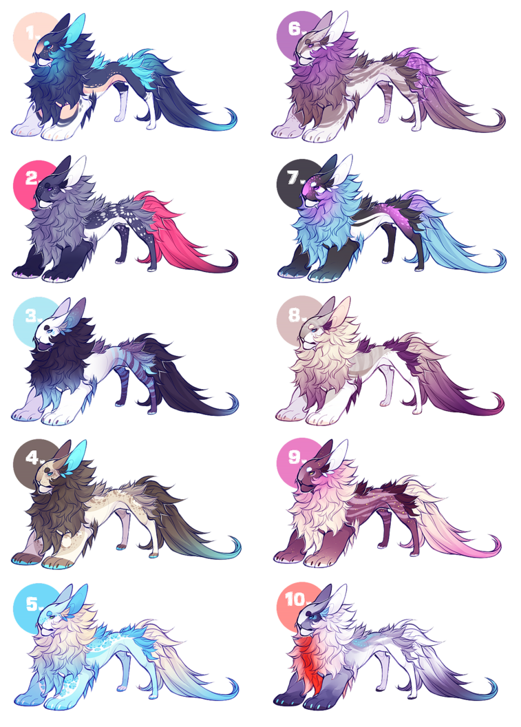 Yevren Dragon Mutation Adoptables #2 by VanillaToxin on DeviantArt