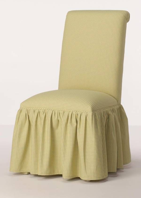 Merveilleux Rolled Back Parsons Chair With Gathered Skirt From Carrington Court Direct.