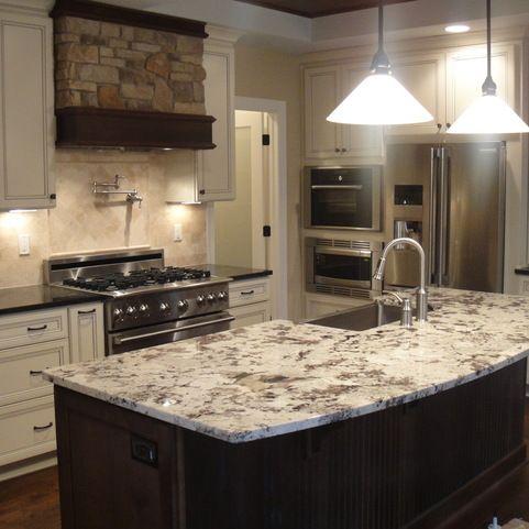 White Delicatus Granite Design Ideas Pictures Remodel