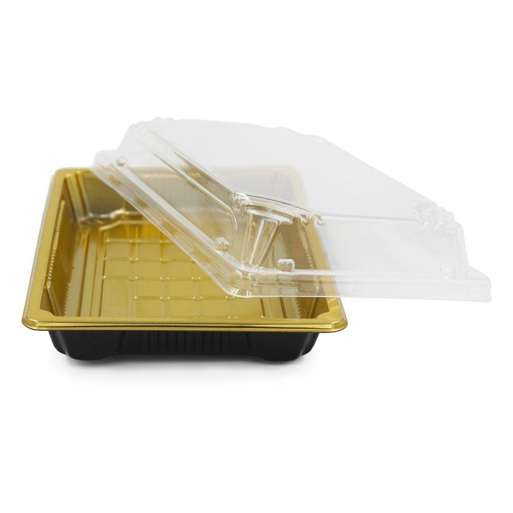 علب بلاستيك اللون ذهبي غطاء شفاف العدد 10 علبه الطول 18 5 سم العرض 13 سم الارتفاع 4 5 سم متوفرة لدى موقع صفقات موقع م Takeout Container 10 Things