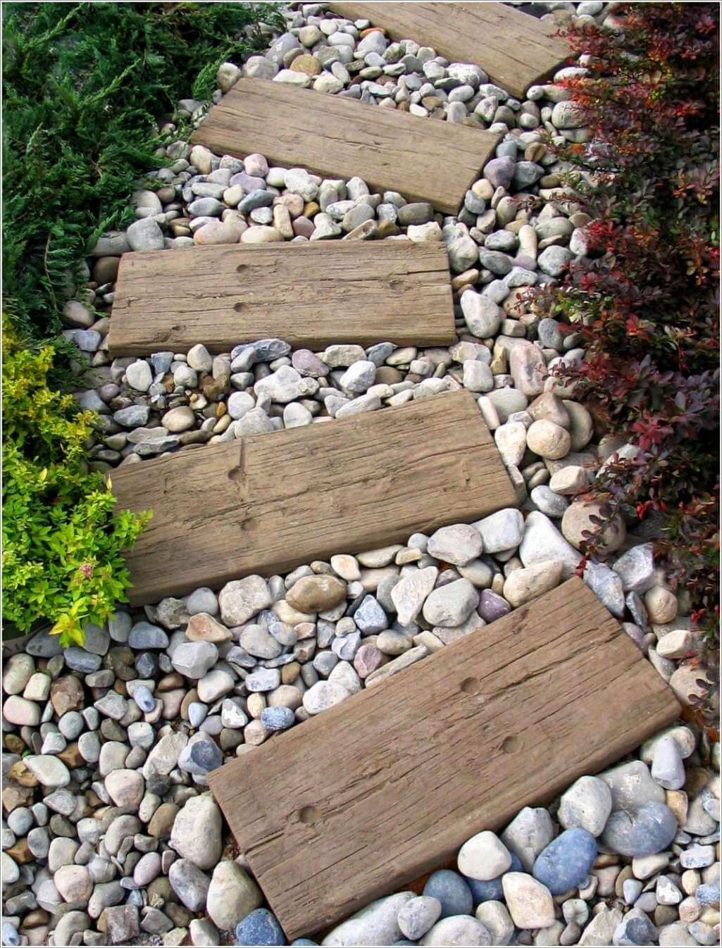 30 Best Decorative Stepping Stones (Ideas and Designs) | Stone ...