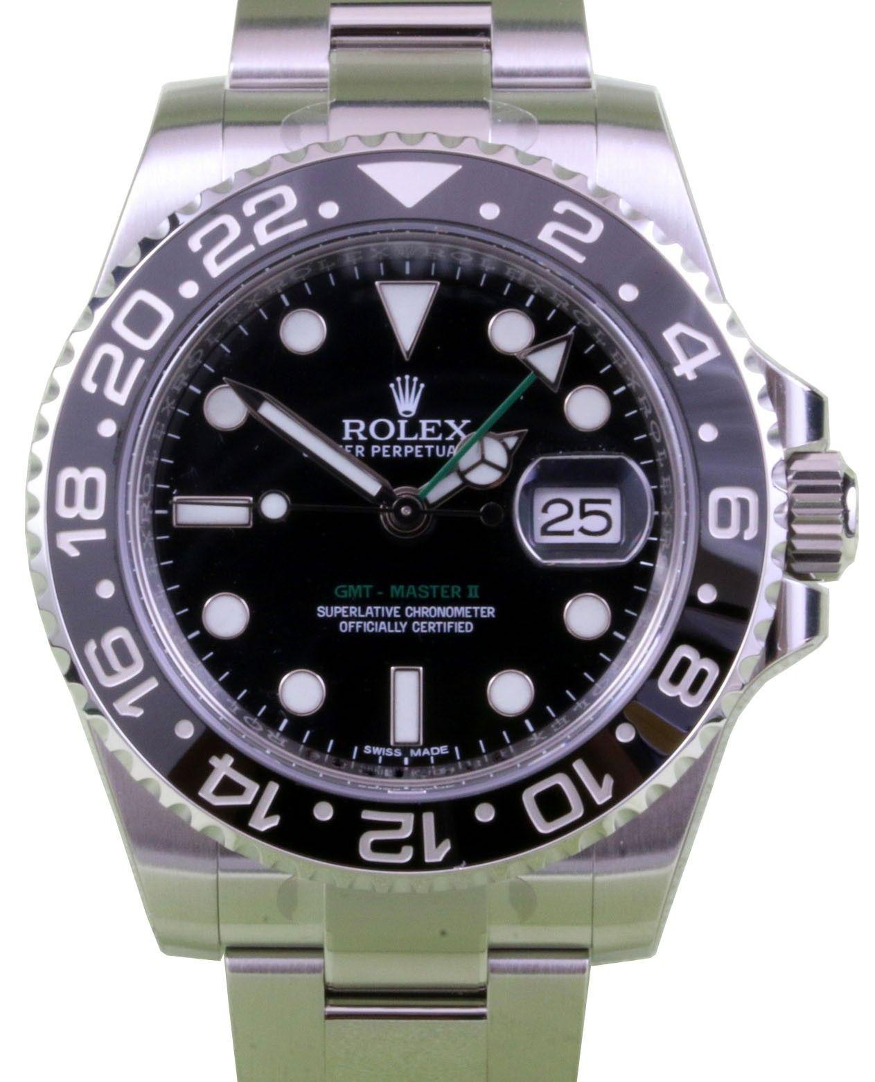 Rolex 116710 Gmt Master Ii Black For Sale Rolex Gmt Master Ii Rolex Rolex Gmt
