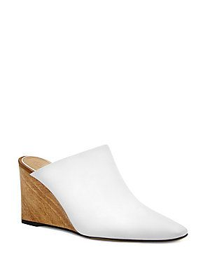 8fc5a4be46 The Row Flora Wedge Mules - Saks Fifth Avenue  990.00