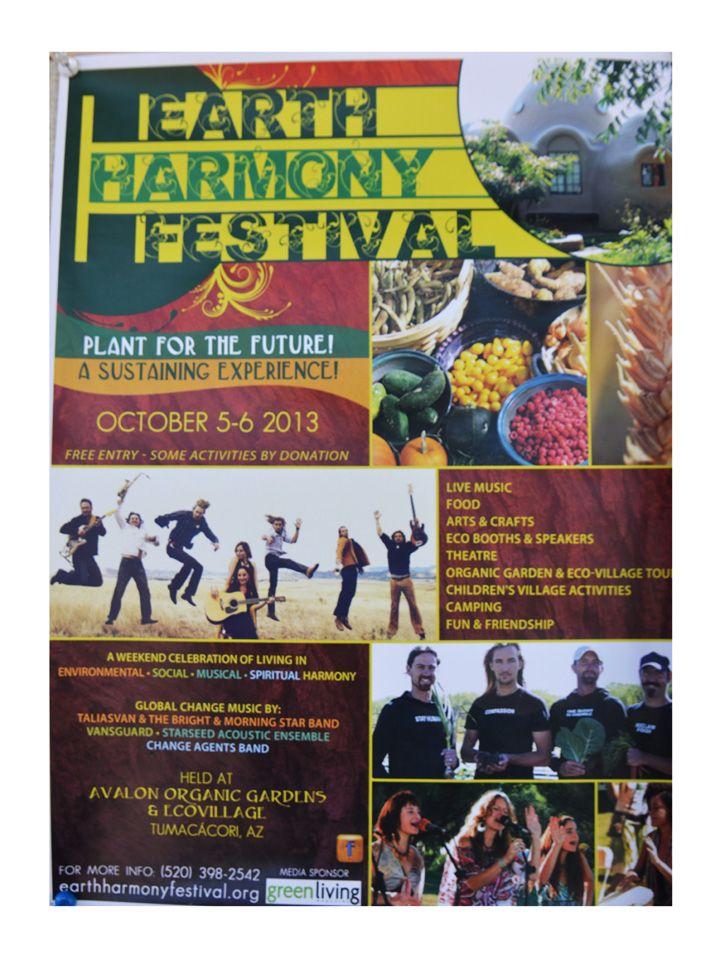 Earth Harmony Festival Oct 5-6