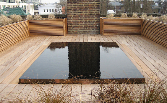 Rooftop Garden Minimalis