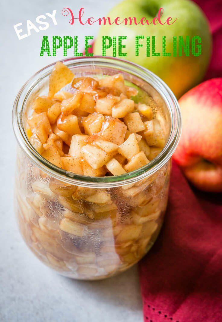 Easy Homemade Apple Pie Filling - Oh Sweet Basil