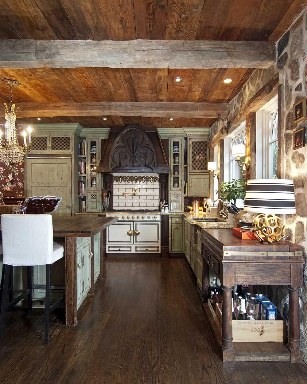 rustic european kitchen design  kitchen diner designs