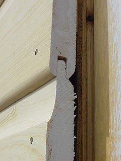 Installing Tongue And Groove Wood Siding On A Garage Wood Siding Wood Siding