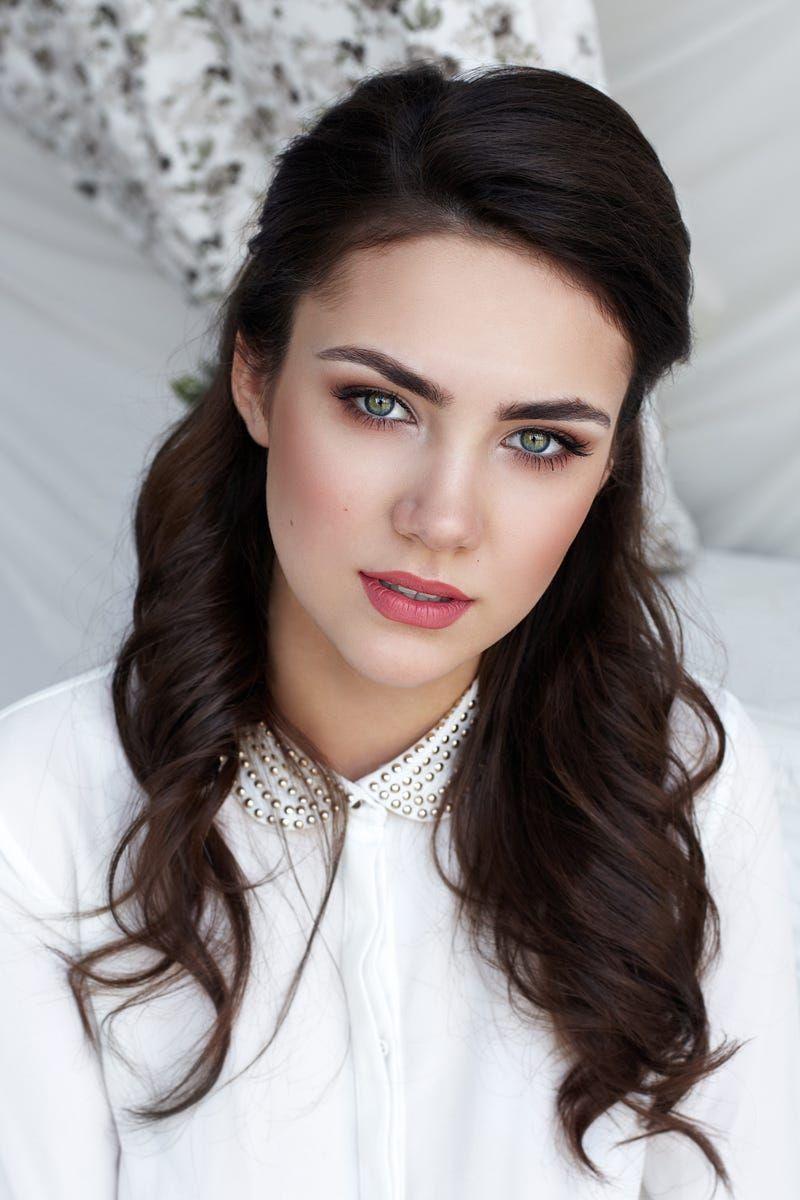 model: liza make up & hair: olga smolyachkova | brunette