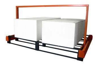 FCX848 CNC hot wire foam cutter for cutting 2 foam blocks