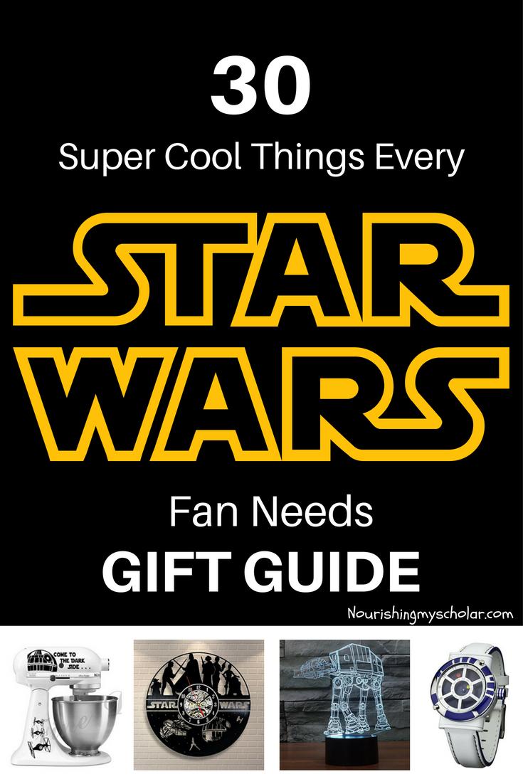 30 Super Cool STAR WARS Gifts ~ Nourishing My Scholar ...